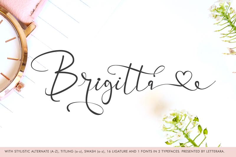 Best Handwritten Sharpie Font 2021 | Brigitta Handwritten Sharpie Font - brigitta