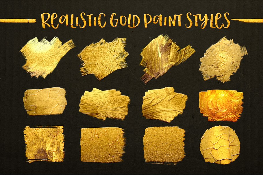 TOOLKIT Gold Paint Effect Photoshop - gold paint photoshop effect 3