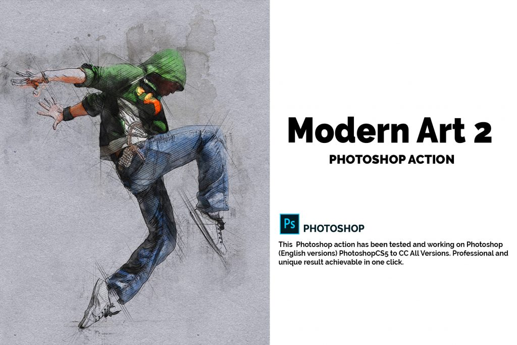 15 Wall Art Photoshop Actions Bundle - preview 1 17