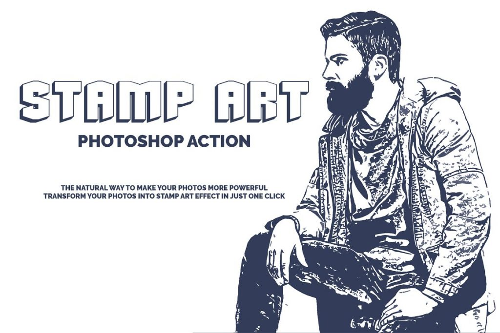 Artistic Mix Bundle Photoshop Action - preview 1 2 1