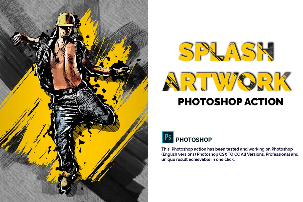 15 Wall Art Photoshop Actions Bundle - preview 1 21