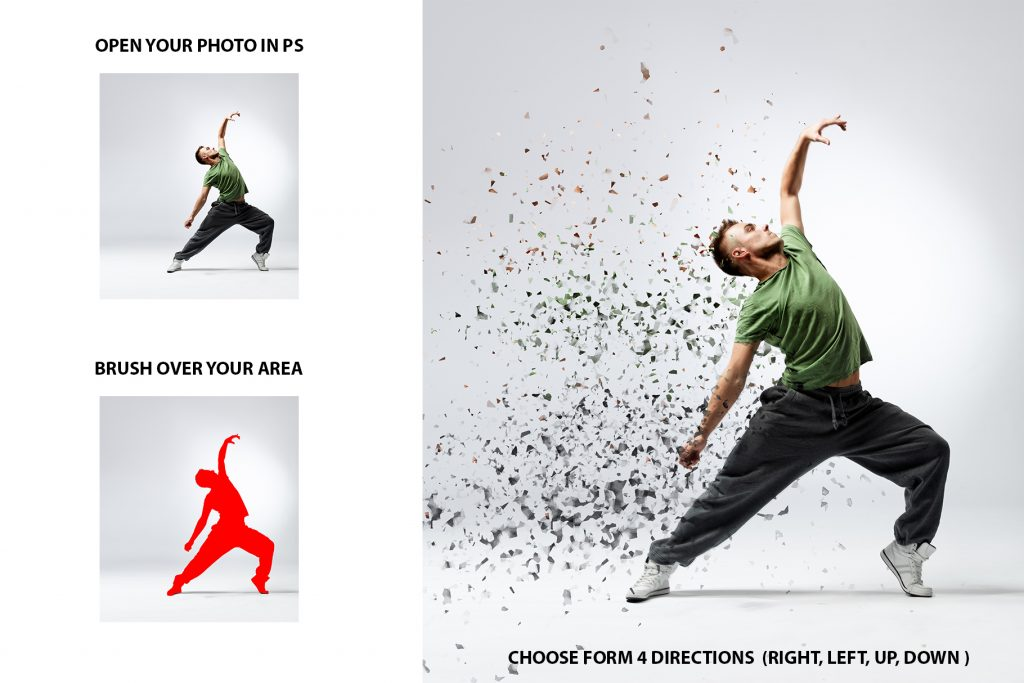 15 Wall Art Photoshop Actions Bundle - preview 3 1