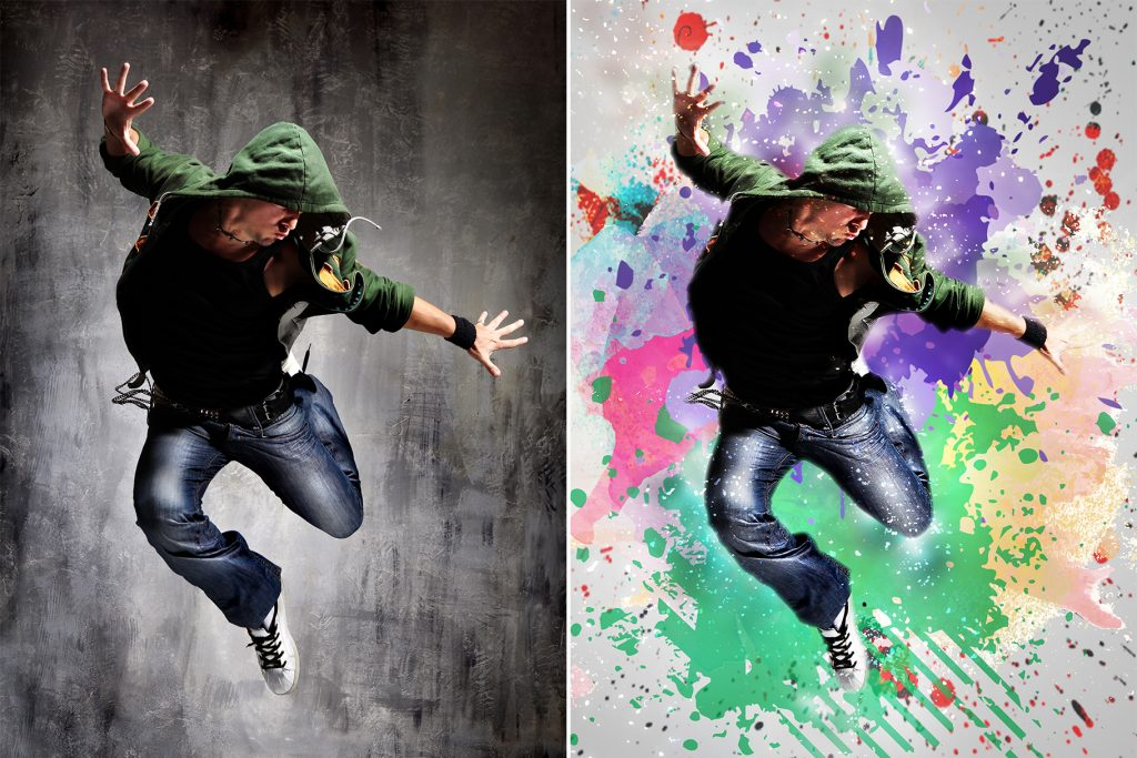 15 Wall Art Photoshop Actions Bundle - preview 5 6
