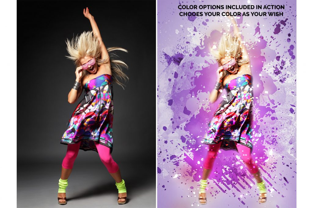 15 Wall Art Photoshop Actions Bundle - preview 7