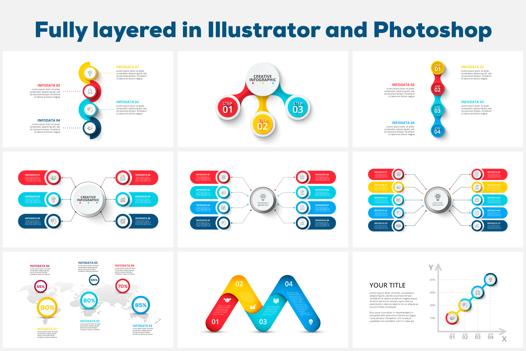 80 Cool Animated Infographics Presentations - 06