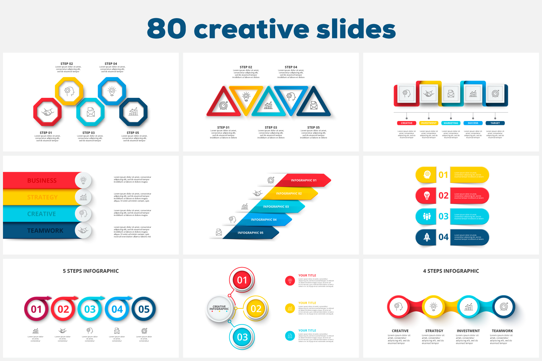 80 Cool Animated Infographics Presentations - 07