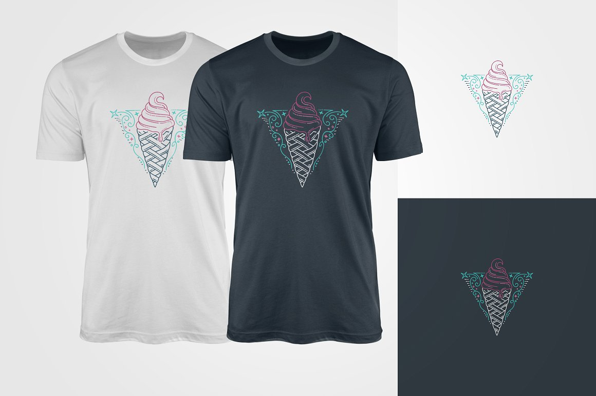 Everybody likes ice-creams, so this t-shirts fir everybody.