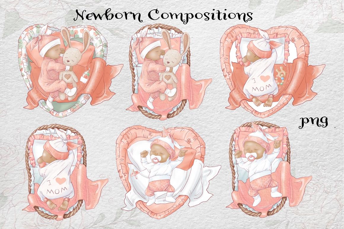 Princess Baby Shower Clipart Images Bundle - 11