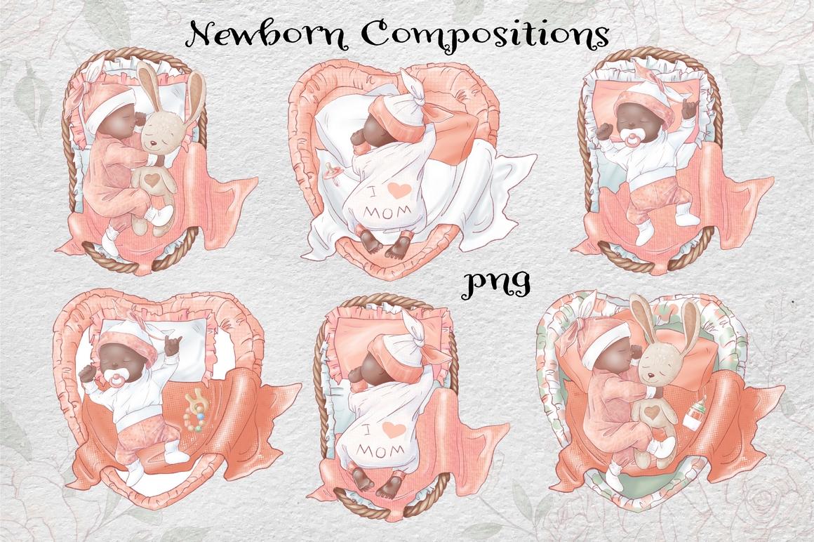 Princess Baby Shower Clipart Images Bundle - 12