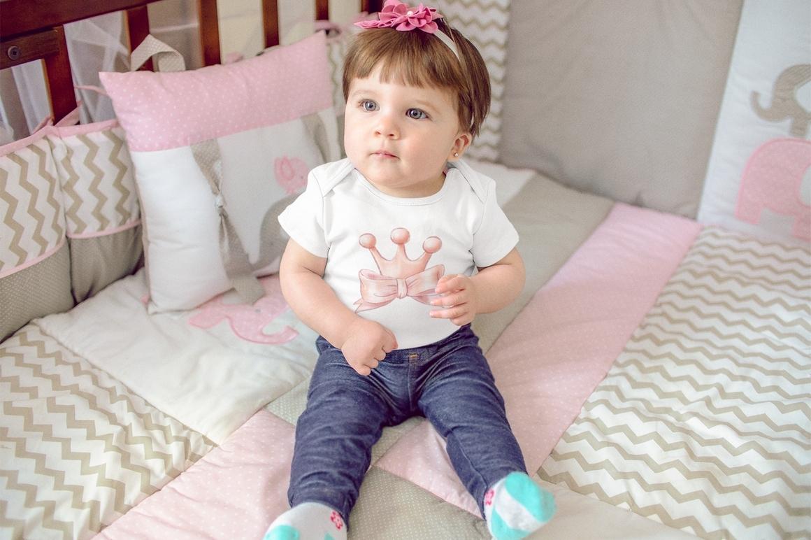 Princess Baby Shower Clipart Images Bundle - 14
