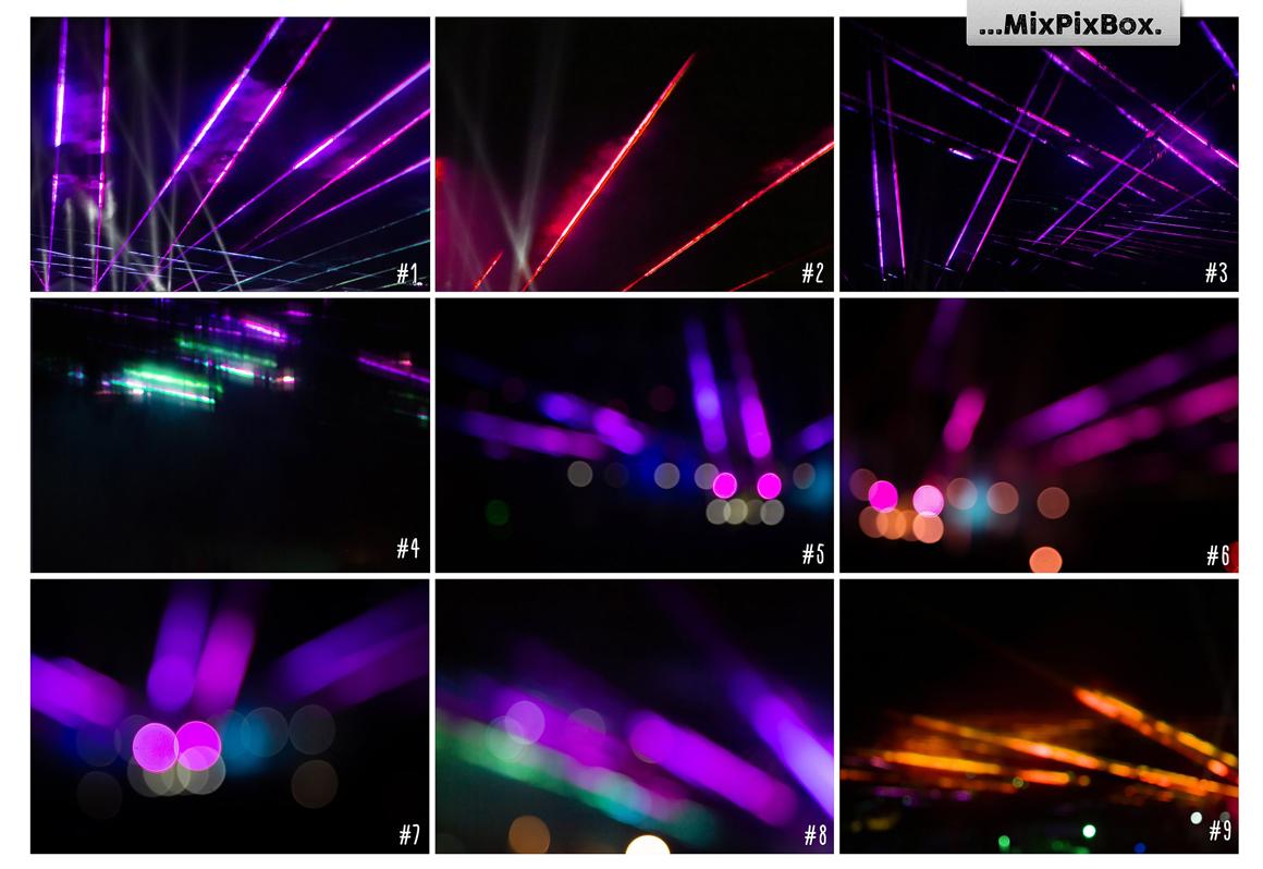 45 Lights Overlays: Stage Lights Photoshop - 5 3