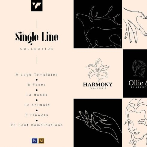 Single Line Graphic Collection 2020 - 600 6 490x490