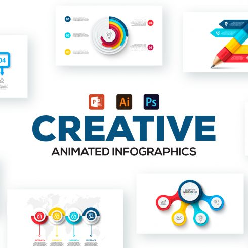 80 Cool Animated Infographics Presentations - 601 10 490x490