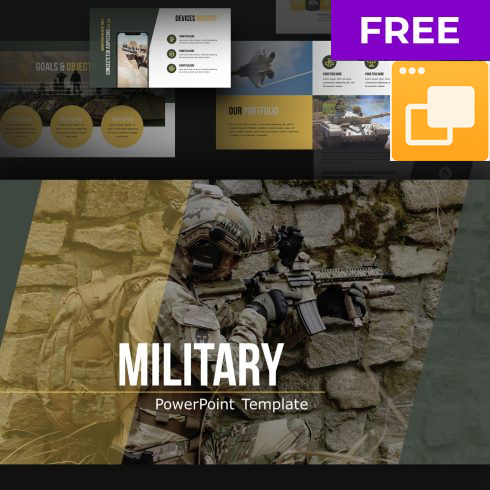 Free Military Google Slides Theme - 602