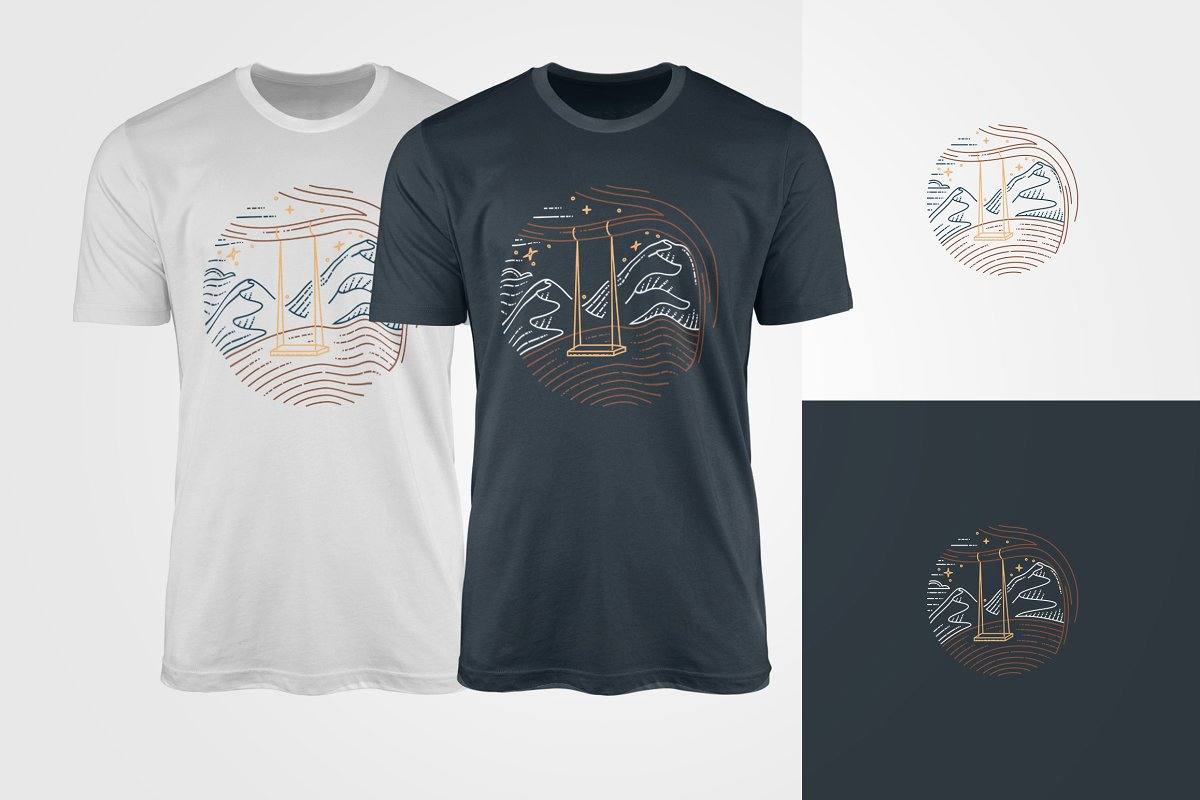 This t-shirts for everybody who loves mountains.