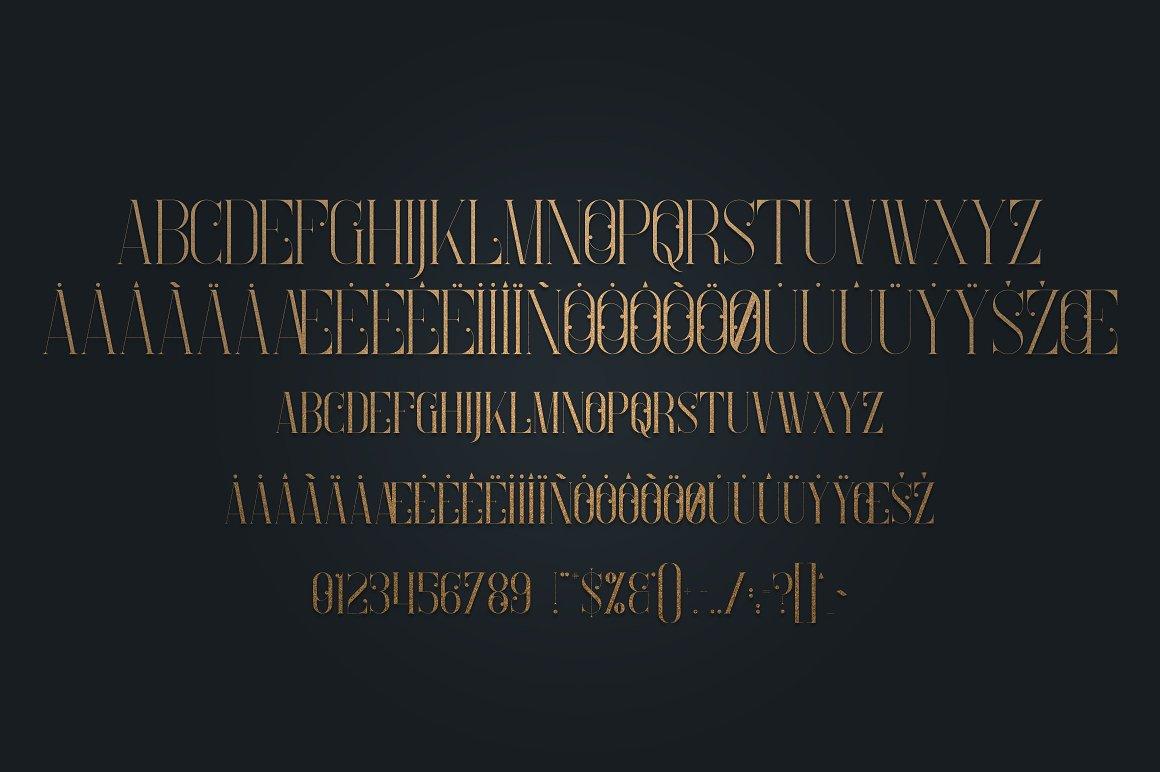 Enchants Bundle: Magical font +  Animal Designs + Nature Elements - 9a