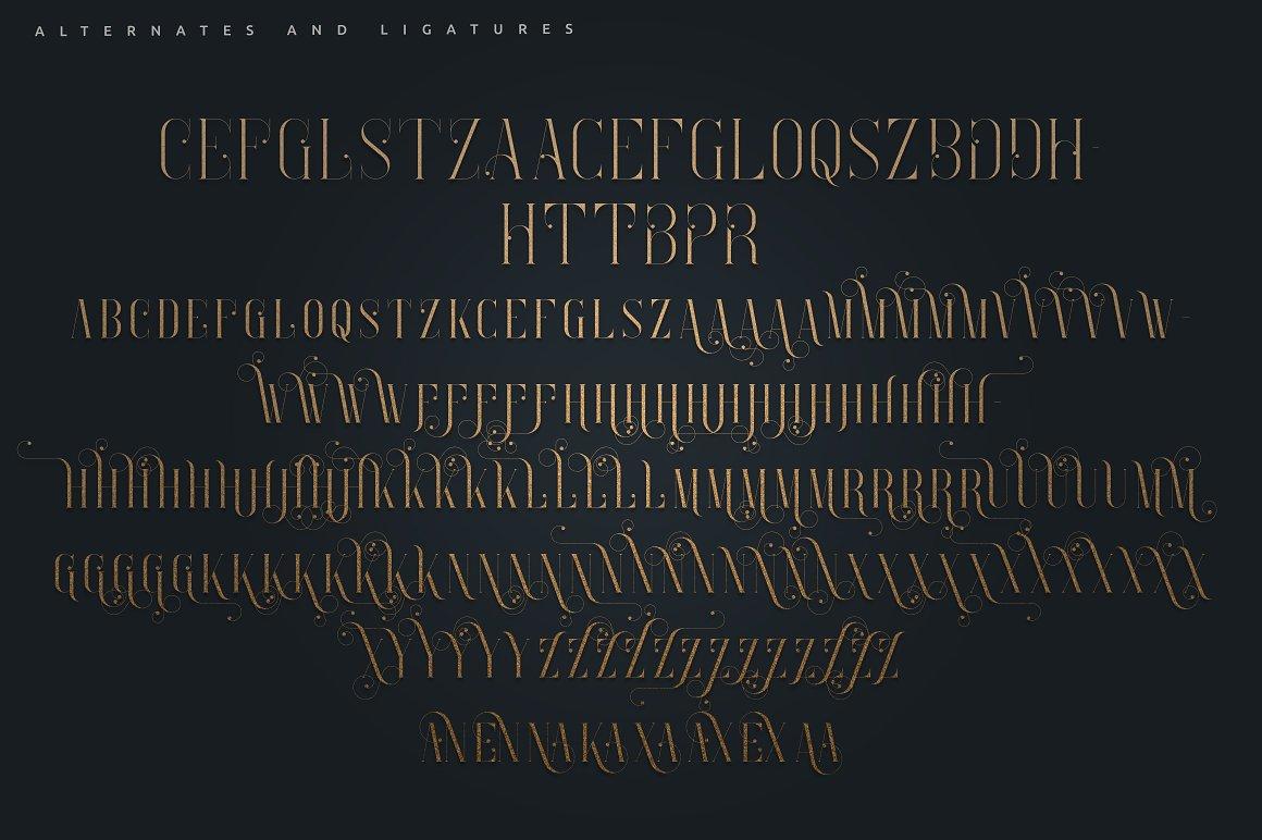 Enchants Bundle: Magical font +  Animal Designs + Nature Elements - 9b