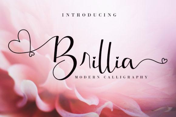 The 9 in 1 Best Seller Candy Script Font Bundle - Brillia Fonts 3919976 1 1 580x387