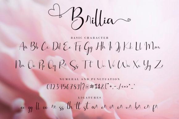 Happy Birthday Modern Calligraphy Brillia - Brillia Fonts 3919976 8 580x387