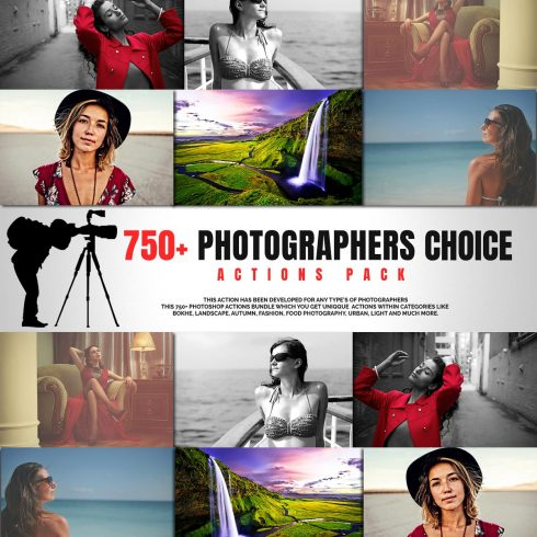 750+ Photographers Choice Clean Photoshop Actions - PhotographersChoice 490x490