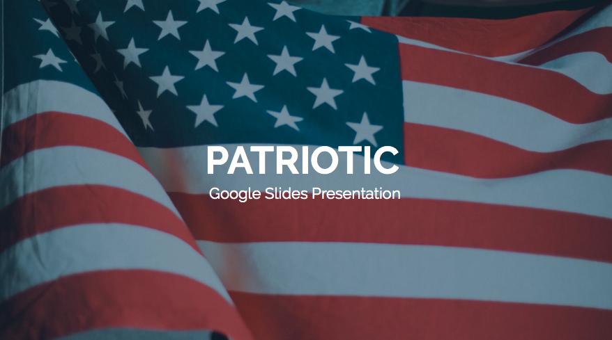 Free Patriotic PowerPoint Template - Screen Shot 2020 07 02 at 14.55.04