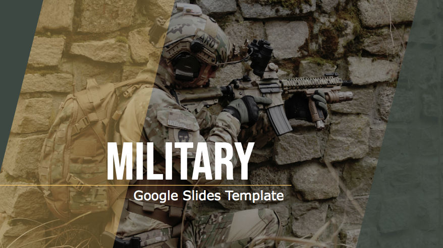 Free Military Powerpoint Template