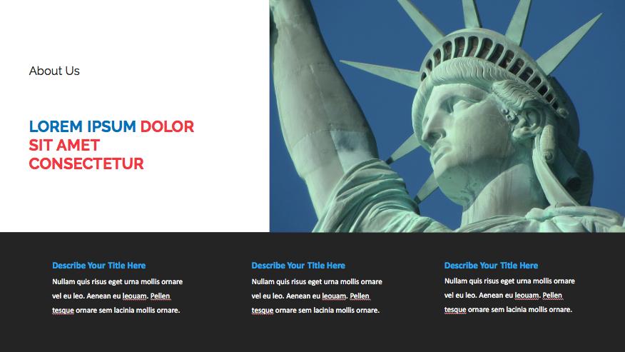 Patriotic PowerPoint Template 2020: 50 Slides + Keynote + Google Slides - Screen Shot 2020 07 03 at 13.04.21