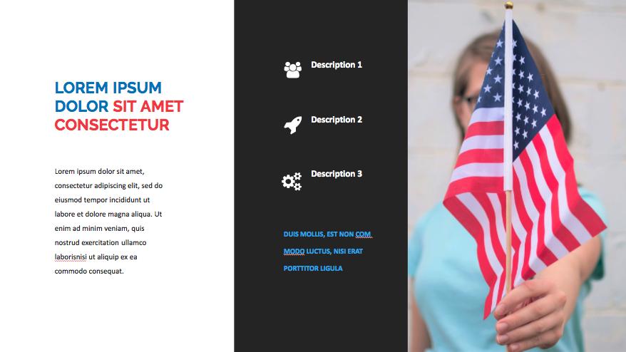 Patriotic PowerPoint Template 2020: 50 Slides + Keynote + Google Slides - Screen Shot 2020 07 03 at 13.04.52