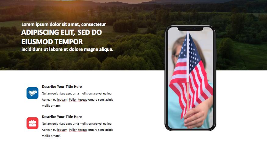 Patriotic PowerPoint Template 2020: 50 Slides + Keynote + Google Slides - Screen Shot 2020 07 03 at 13.12.49