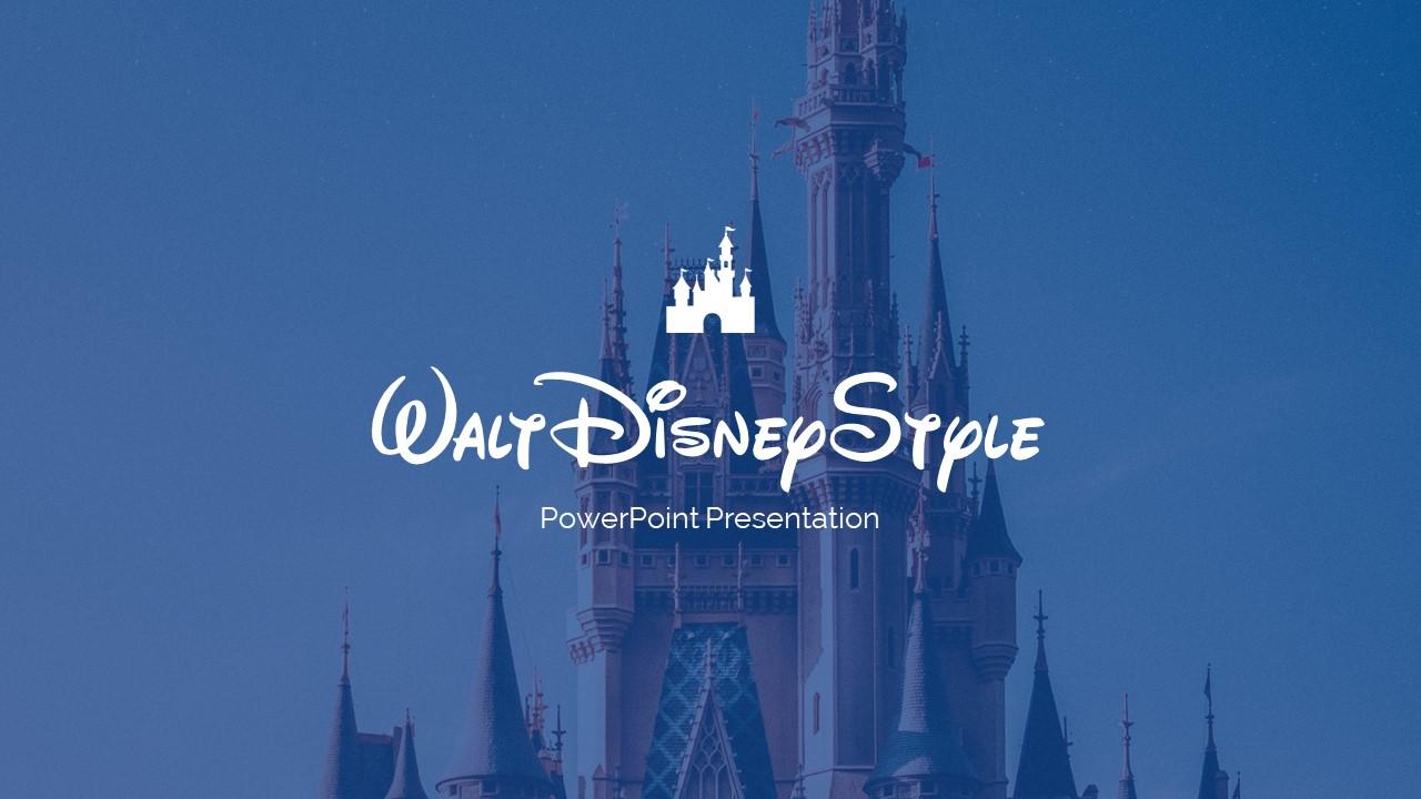 Disney Powerpoint Template 2020: 50 Unique Slides - Slide1 1