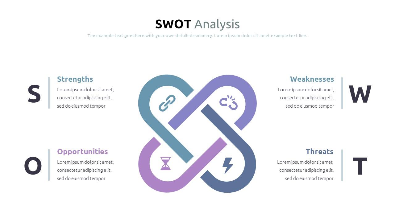 Best SWOT Analysis Template Powerpoint 2021: 40 Unique Slides & 5 Color Schemes - Slide10