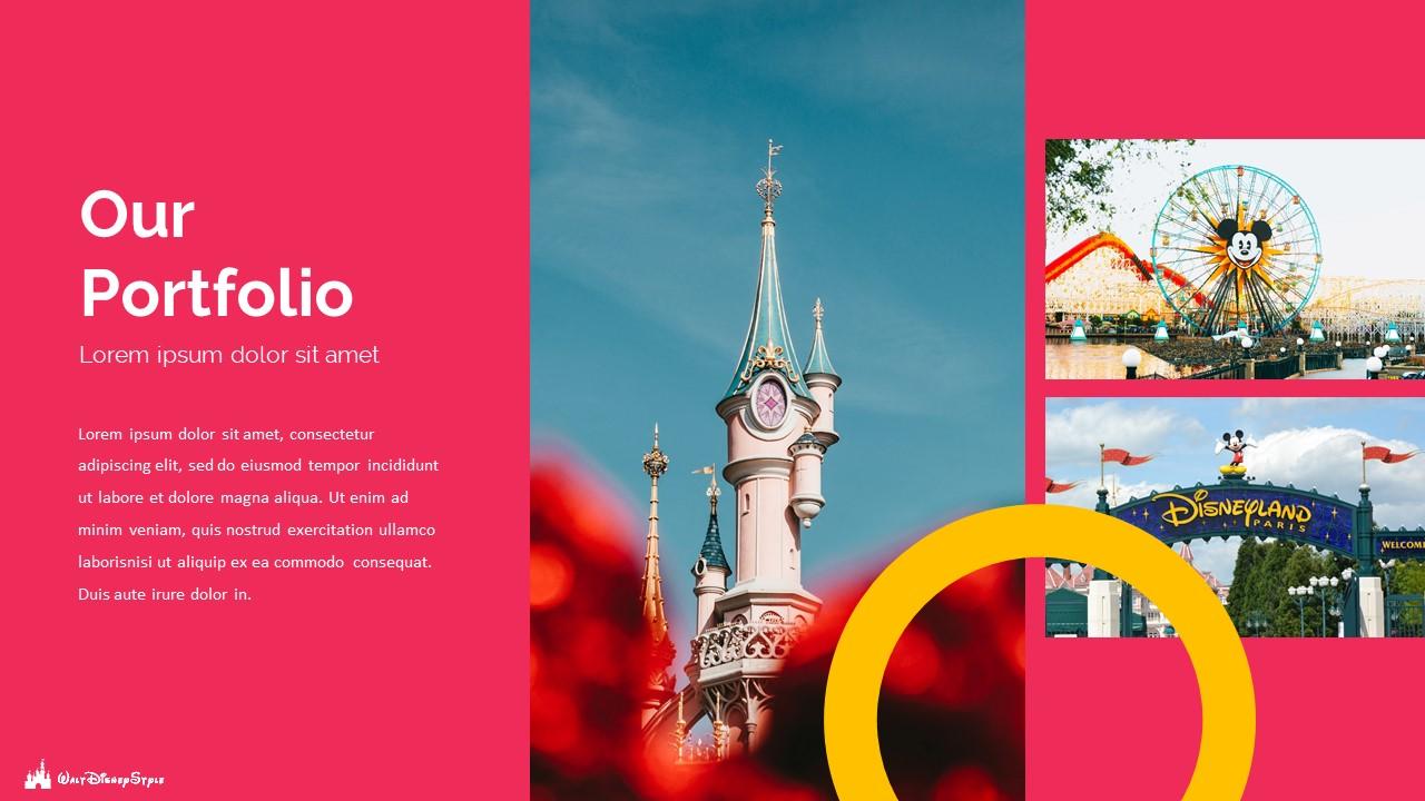 Disney Powerpoint Template 2020: 50 Unique Slides - Slide18 1
