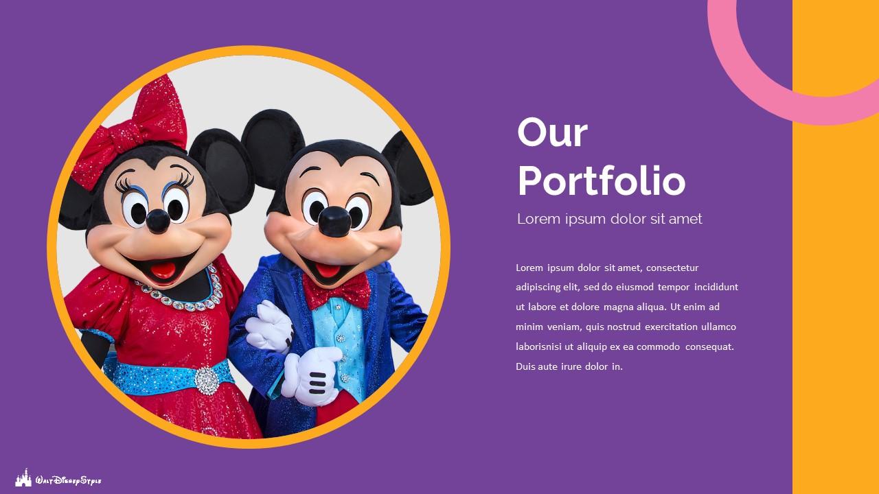 Disney Powerpoint Template 2020: 50 Unique Slides - Slide19 1