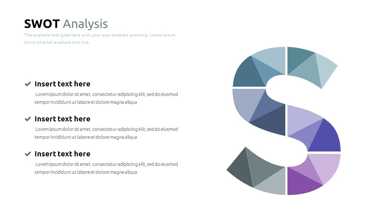 Best SWOT Analysis Template Powerpoint 2021: 40 Unique Slides & 5 Color Schemes - Slide19