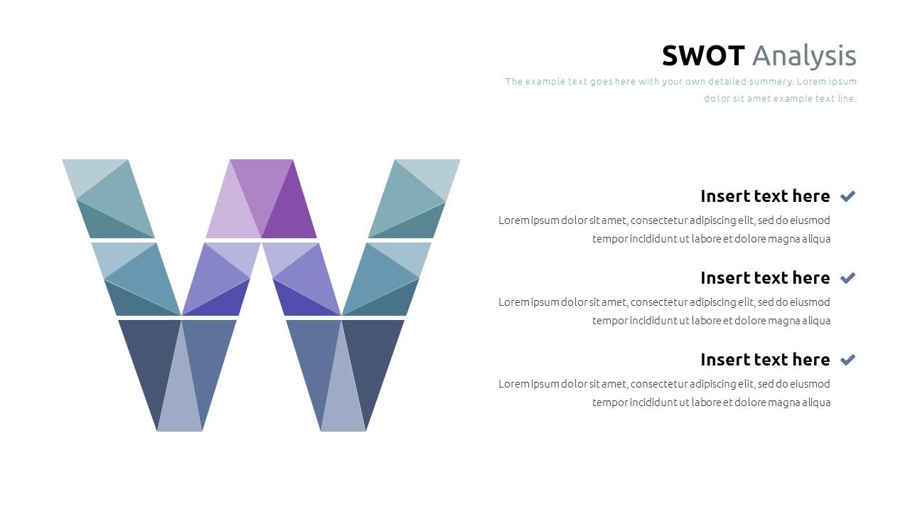 Best SWOT Analysis Template Powerpoint 2021: 40 Unique Slides & 5 Color Schemes - Slide20