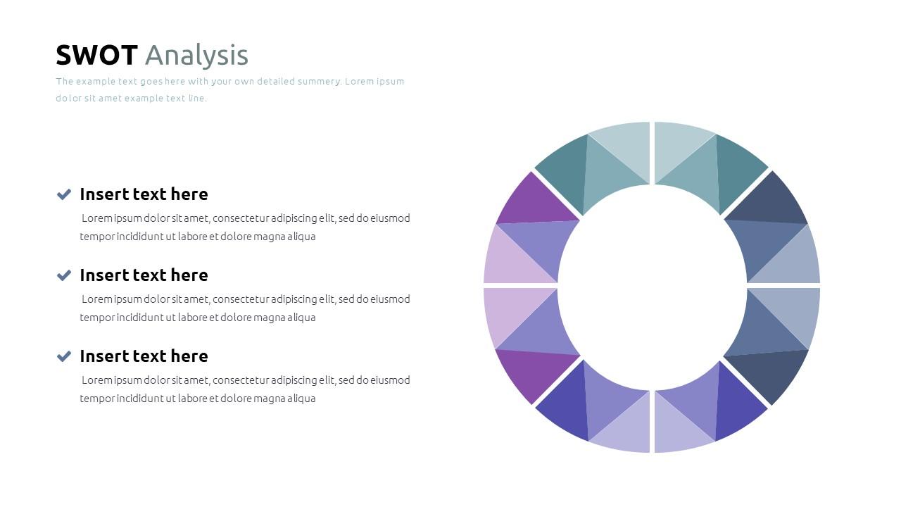 Best SWOT Analysis Template Powerpoint 2021: 40 Unique Slides & 5 Color Schemes - Slide21
