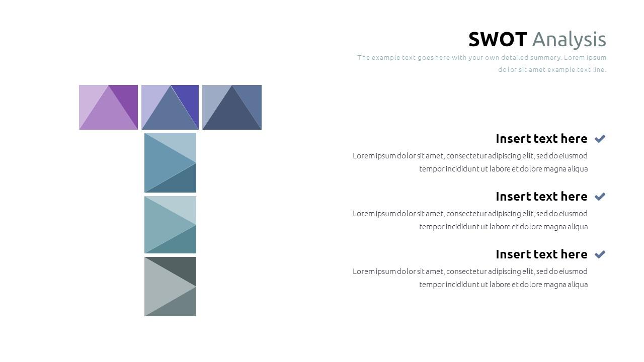Best SWOT Analysis Template Powerpoint 2021: 40 Unique Slides & 5 Color Schemes - Slide22