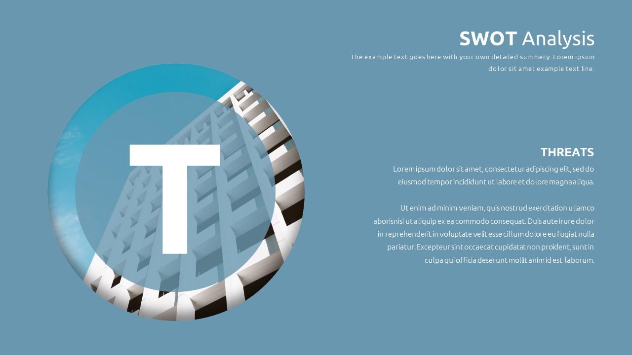 Best SWOT Analysis Template Powerpoint 2021: 40 Unique Slides & 5 Color Schemes - Slide27