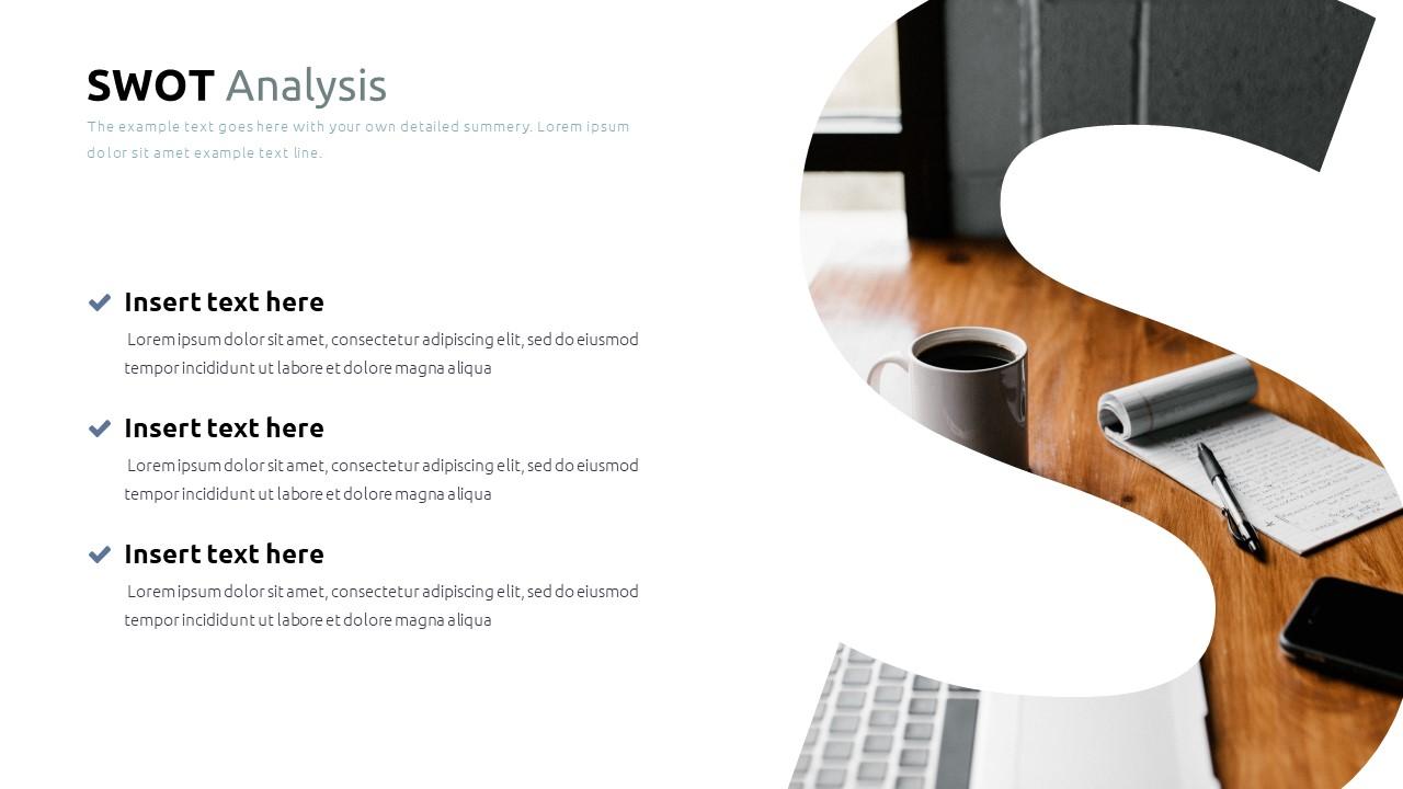 Best SWOT Analysis Template Powerpoint 2021: 40 Unique Slides & 5 Color Schemes - Slide28