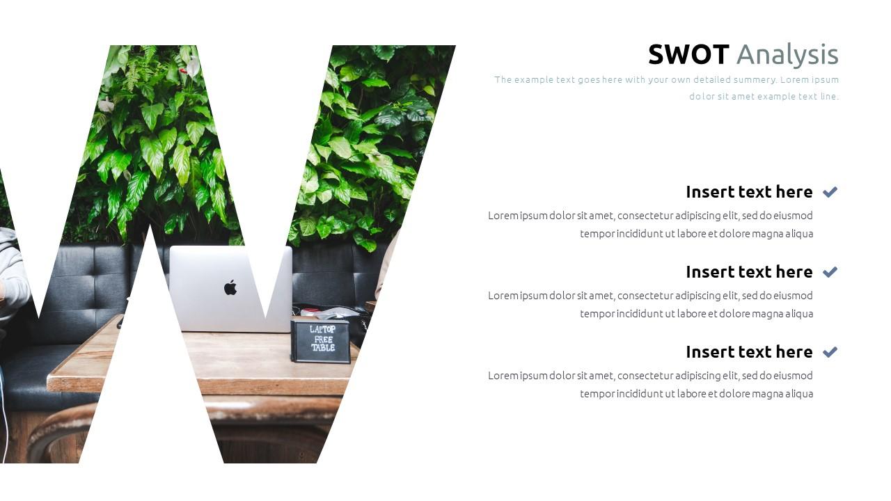 Best SWOT Analysis Template Powerpoint 2021: 40 Unique Slides & 5 Color Schemes - Slide29