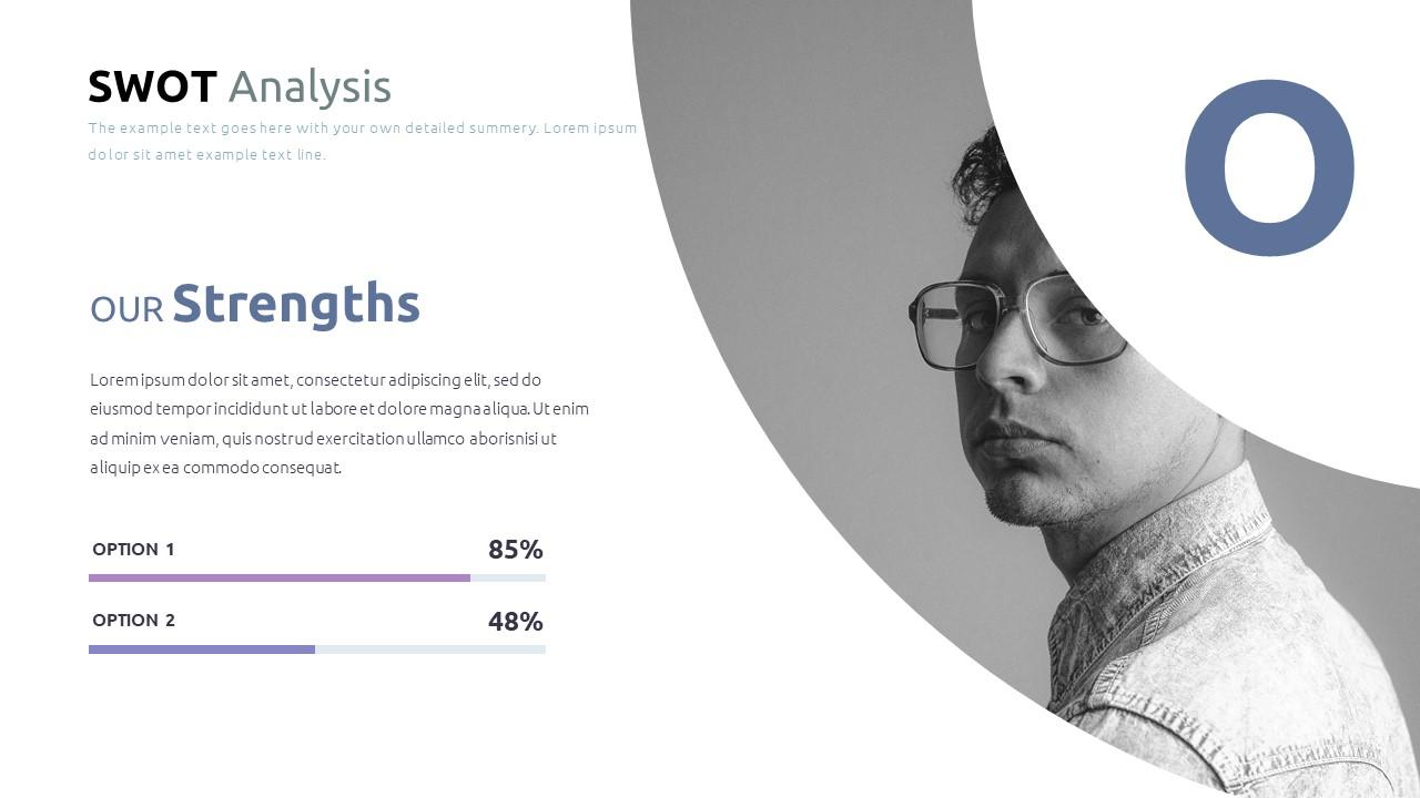 Best SWOT Analysis Template Powerpoint 2021: 40 Unique Slides & 5 Color Schemes - Slide35