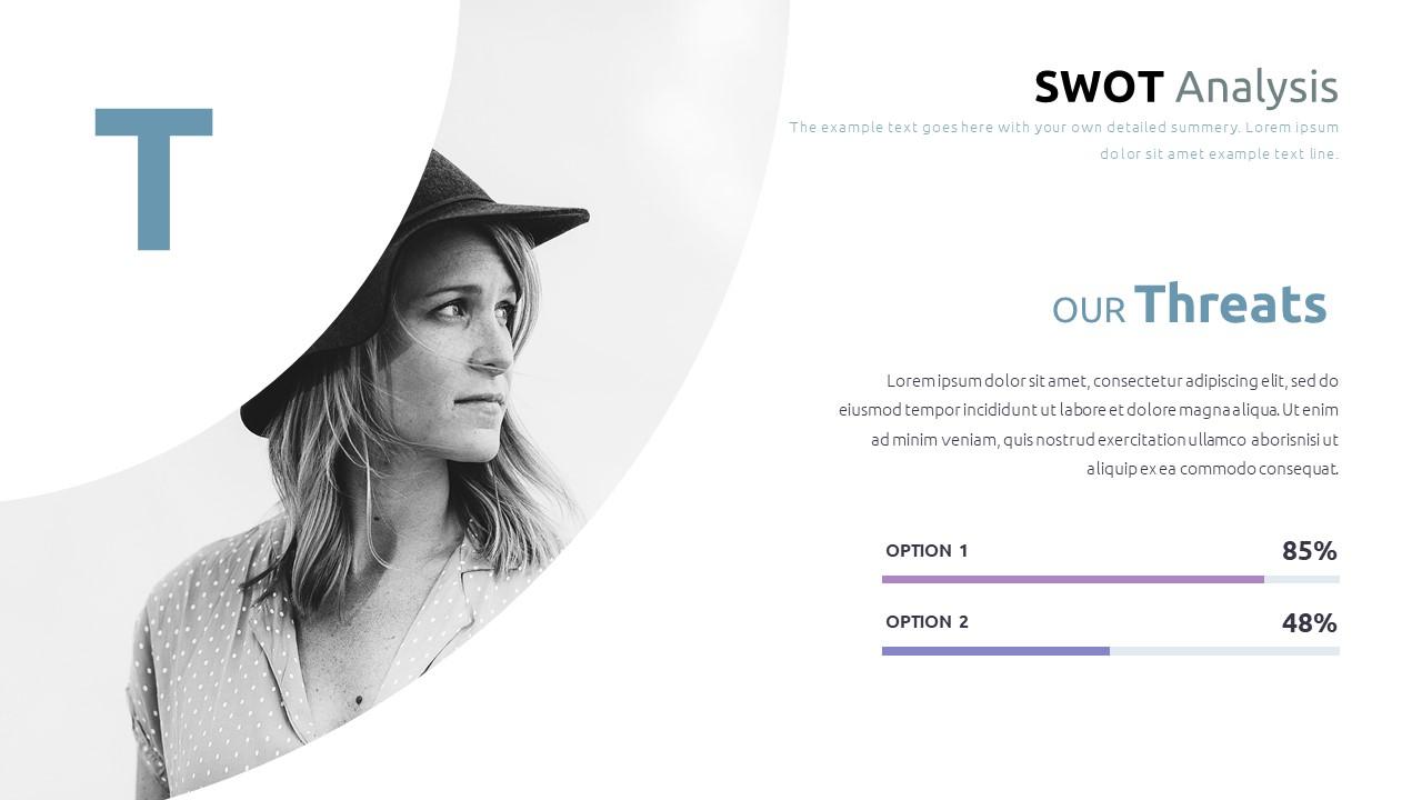 Best SWOT Analysis Template Powerpoint 2021: 40 Unique Slides & 5 Color Schemes - Slide36