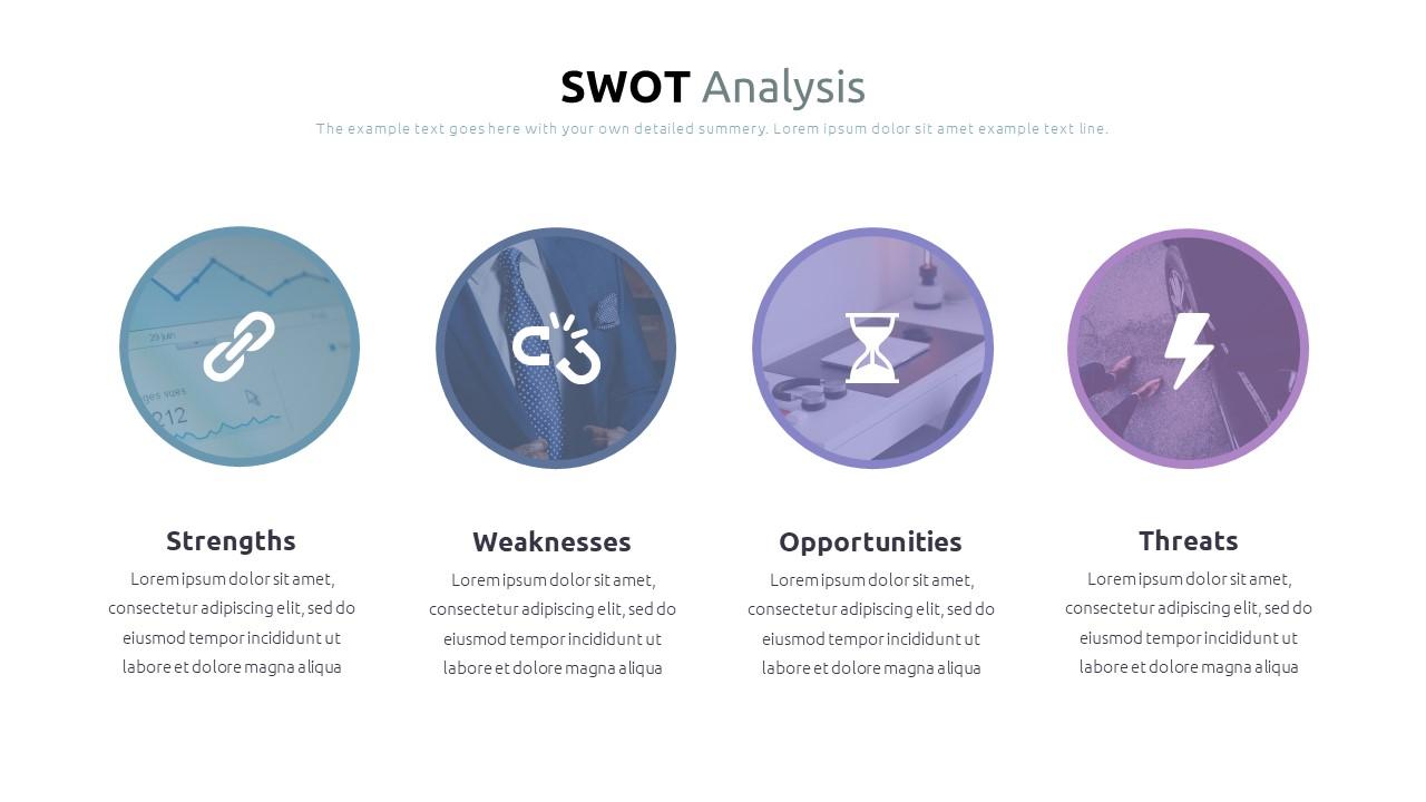 Best SWOT Analysis Template Powerpoint 2021: 40 Unique Slides & 5 Color Schemes - Slide38