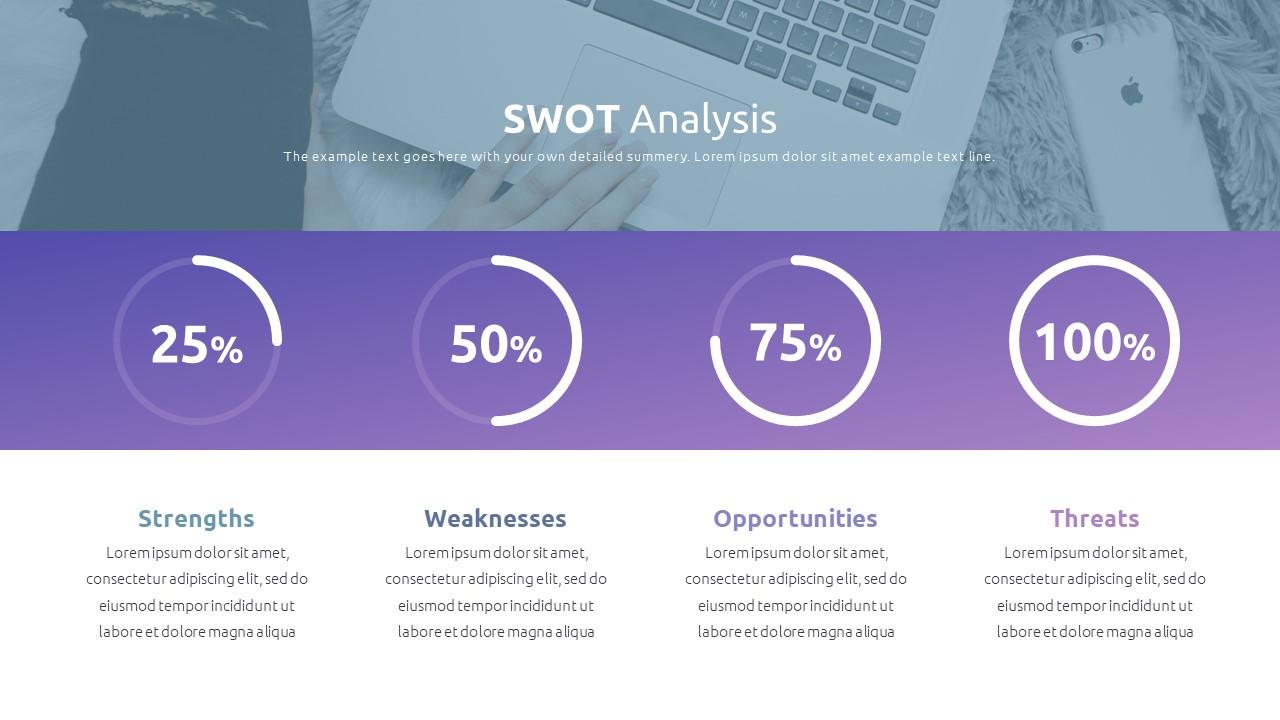 Best SWOT Analysis Template Powerpoint 2021: 40 Unique Slides & 5 Color Schemes - Slide39