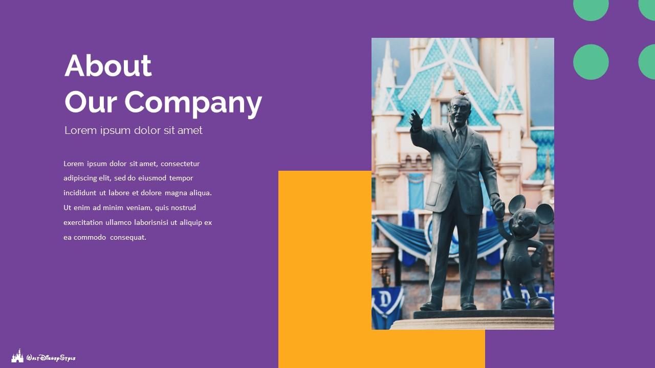 Disney Powerpoint Template 2020: 50 Unique Slides - Slide4 1