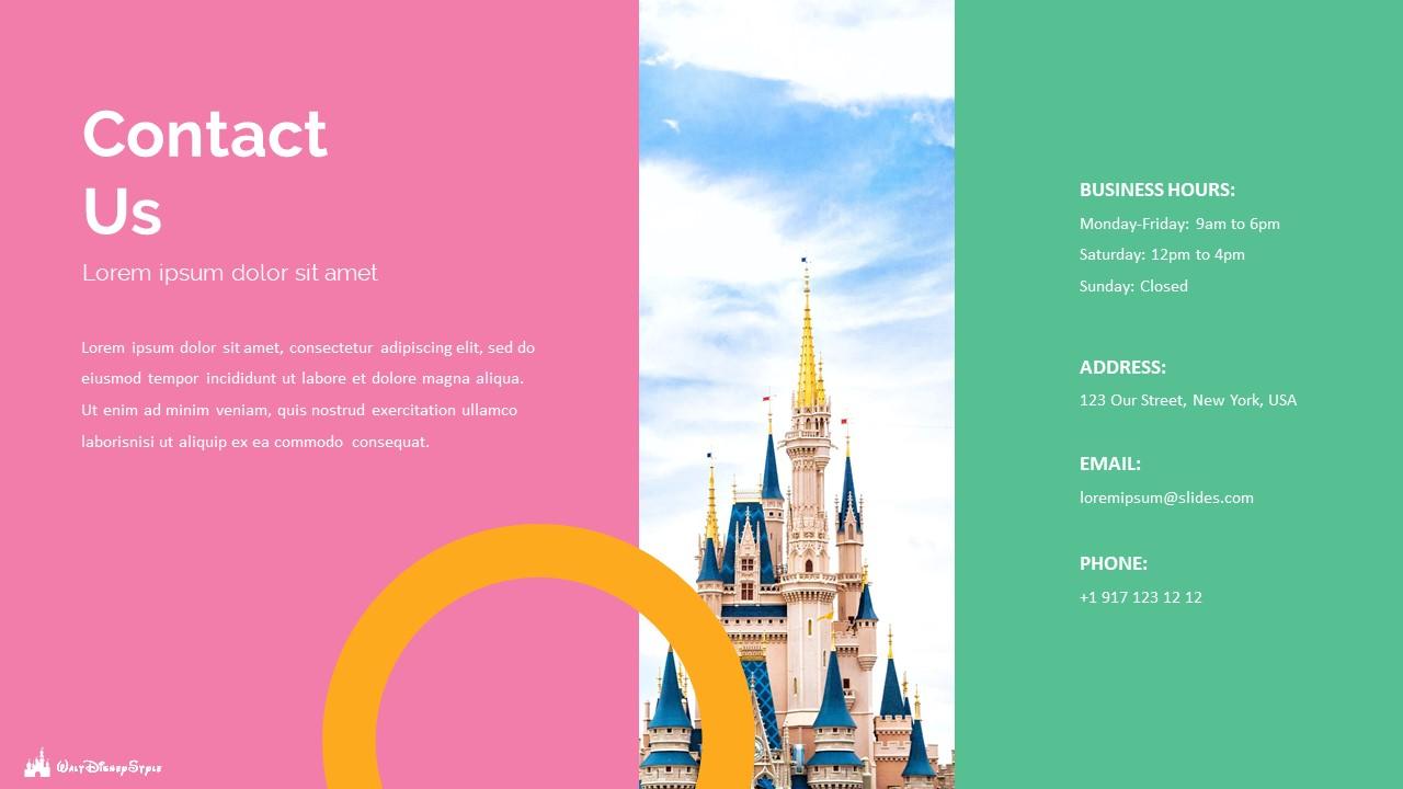 Disney Powerpoint Template 2020: 50 Unique Slides - Slide49
