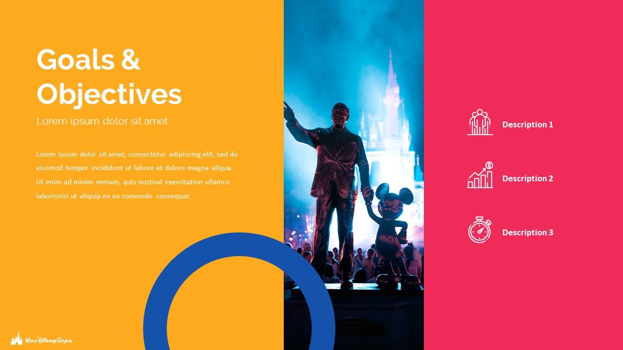 Disney Powerpoint Template 2020: 50 Unique Slides - Slide6 1