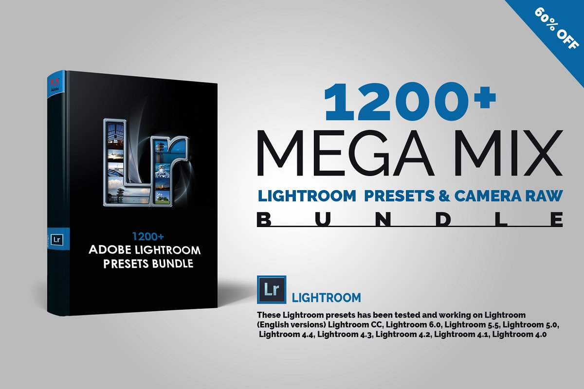 1200+ Mega Urban Lightroom Presets & Camera Raw - cover image