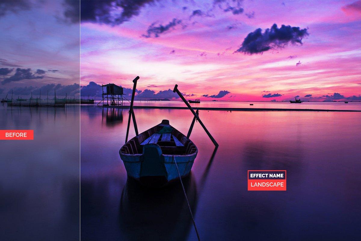 750+ Photographers Choice Clean Photoshop Actions - landscape 2