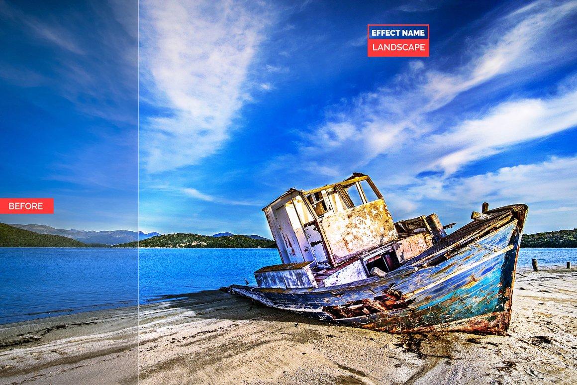 750+ Photographers Choice Clean Photoshop Actions - landscape 3